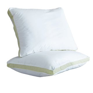 Restonic Quilted Medium/ Firm/ Extra Firm Density Pillows (Set of 2)