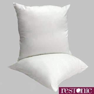 Restonic Euro Square Pillow (Set of 2)