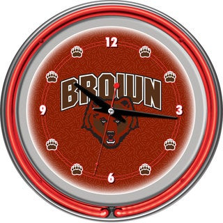 Brown University Neon Clock