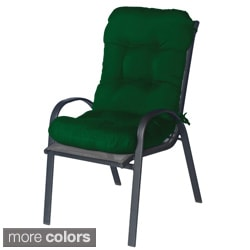 Outdoor All-weather Fabric Tufted Club Chair Cushion