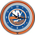 NHL New York Islanders Neon Clock