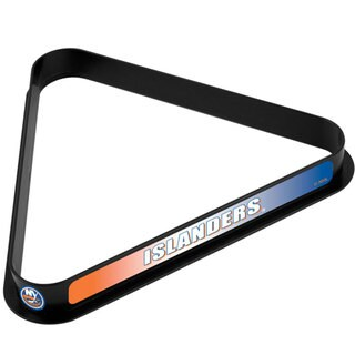 NHL New York Islanders Billiard Ball Triangle Rack
