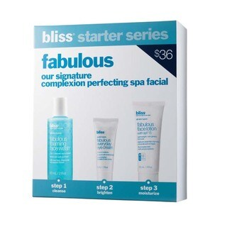 Bliss Fabulous Complexion Perfecting Spa Facial 3-Piece Starter Kit