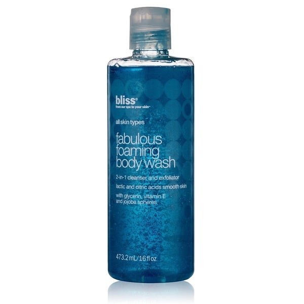Bliss Fabulous Foaming 16-ounce Body Wash