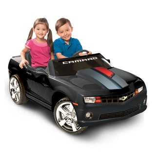 Chevrolet 45th Anniversary Black Two-Seater Camaro