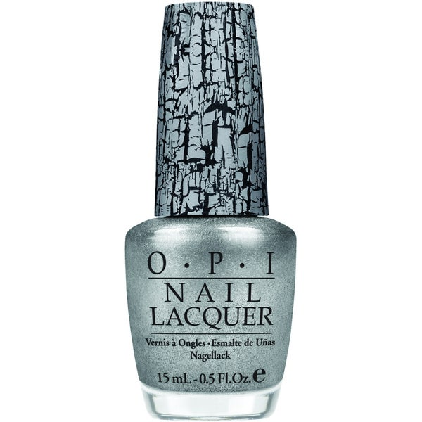 OPI Silver Shatter Nail Lacquer