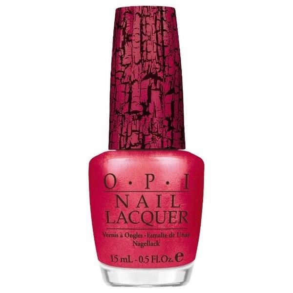 OPI Pink of Hearts Shatter Nail