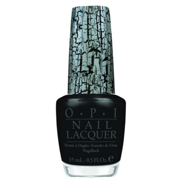 OPI Black Shatter Nail Lacquer