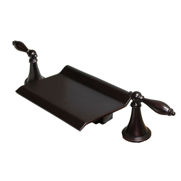oil rubbed bronze 5 piece waterfall bathroom tub shower faucet set