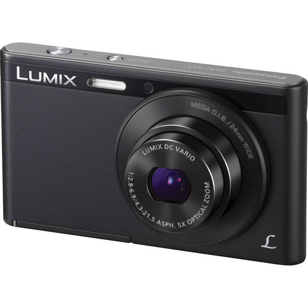 Panasonic Lumix DMC-XS1 16.1 Megapixel Compact Camera - Black