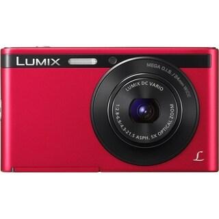 Panasonic Lumix DMC-XS1 16.1 Megapixel Compact Camera - Red