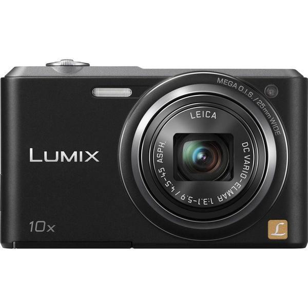 Panasonic Lumix DMC-SZ3 16.1MP Black Digital Camera