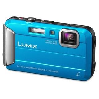 Panasonic Lumix DMC-TS25 16.1 Megapixel Compact Camera - Blue