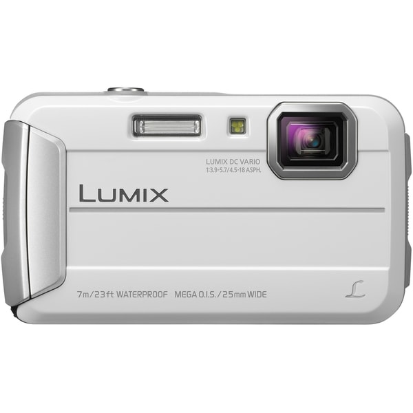 Panasonic Lumix DMC-TS25 16.1 Megapixel Compact Camera - White