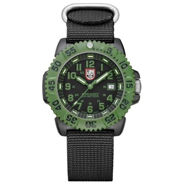 Luminox Men's Black Dial Carbon-reinforced Polycarbonate Watch