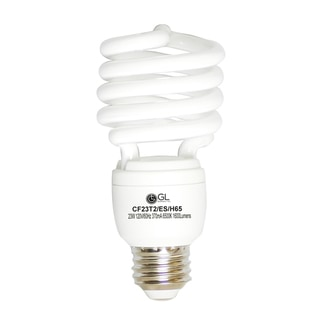 Goodlite G-10853 23-Watt CFL 1600-Lumen Daylight T2 Spiral Light Bulbs (Pack of 25)