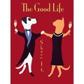 Ken Bailey 'The Good Life' Unframed Print