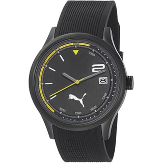 Puma Men's 'Motor' Black Quartz Watch
