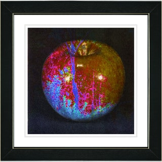 Studio Works Modern 'Magic Apple' Framed Print