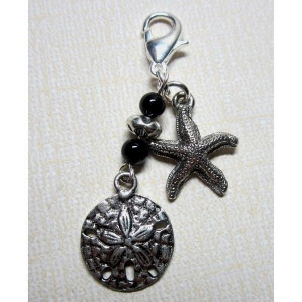 Fashion Forward Starfish Sand Dollar Charm