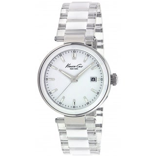 Kenneth Cole Women's White Ceramic Quartz Watch
