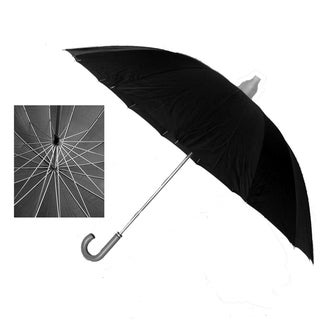 Black 60-inch Diameter Jumbo Umbrellas (Case of 24)