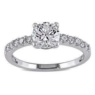 Miadora 14k White Gold 1 1/6ct TDW Diamond Ring (H-I, SI2)