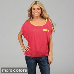 Miso Women's Two-tone Boxy Tee
