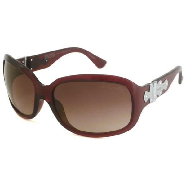 Michael Michael Kors Women's M2685S Bel Air Wrap Sunglasses