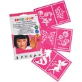 Snazaroo Face Painting Stencils Girls Fantasy (Pack of 6)