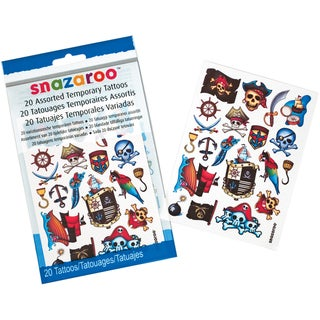 Snazaroo Pirates Temporary Tattoos
