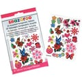 Snazaroo Flowers, Hearts &amp; Butterflies Temporary Tattoos
