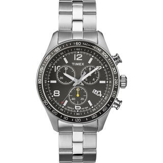 Timex Men's T2P041 Ameritus Chronograph Stainless Steel Bracelet Watch