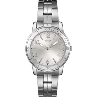 Timex Women's T2P047 Ameritus Sport Stainless Steel Bracelet Watch