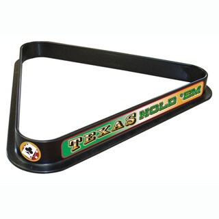 Texas Holdem Billiard Ball Triangle Rack