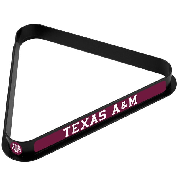 Texas A&M University Billiard Ball Triangle Rack