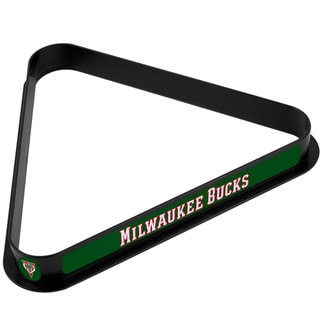 Milwaukee Bucks NBA Billiard Ball Rack