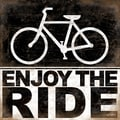 Kathy Middlebrook 'Enjoy The Ride' Paper Printt (Unframed)