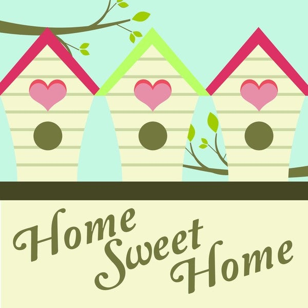 'Home Sweet Home' Print Art