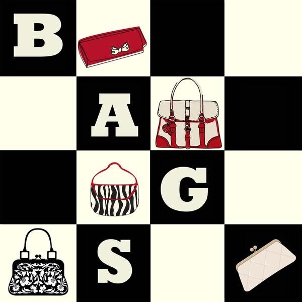 'Bags Bags Bags' Print Art