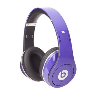 Monster Beats by Dr Dre Purple Studio Headphones