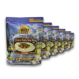 Grizzly Ridge Creamy Potato Soup Mix (Pack of 6)