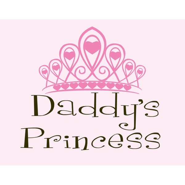 'Daddy's Princess' Print Art
