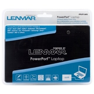 Lenmar PowerPort Laptop Portable Battery and Charger for Notebook Com