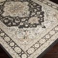Handcrafted White Classic Winter White Rug (7'9 x 11'2)