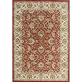 Alliyah Hand-made Wool Soft Red Persian Rug (10&#39;x14&#39;)