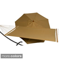 Phat Tommy Sunbrella Umbrella and Hammock Set