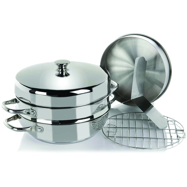 Wolfgang Puck Seven-piece Cooker Pan Set