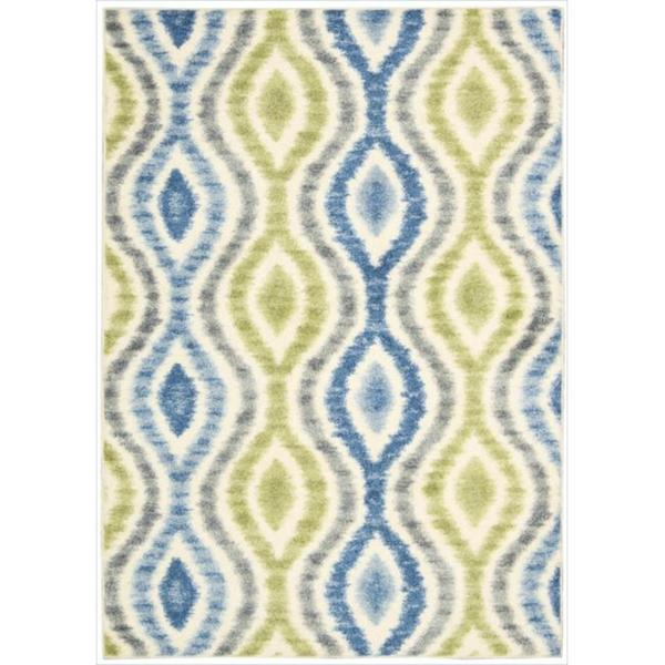 Waverly Aura of Flora Optical Delights Capri Area Rug by Nourison (7'9 x 10'10)
