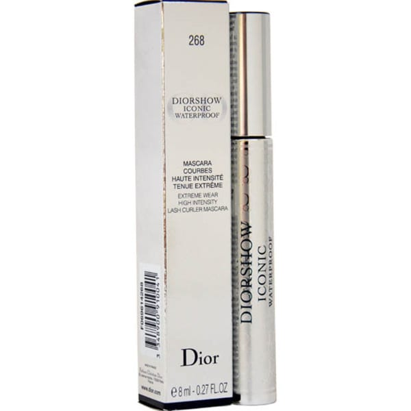 Dior Diorshow Iconic 268 Blue Waterproof Extreme Wear Mascara